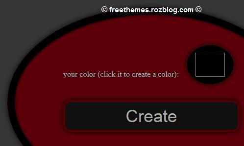 ابزار ایجاد کد رنگ برای صفحات وب - با قابلیت قرار دادن در سایت ها و وبلاگ ها