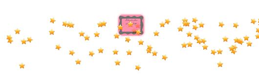 ستاره باران صفحه با نمايش پيام هنگام ورود - با انواع حالت ها