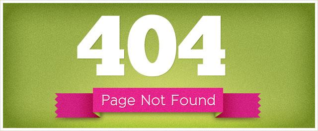 قالب 404 شماره 1 - طرح ساده با تصویر زیبا